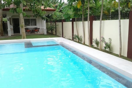 Alona Studio Bungalow with private pool and garden - Panglao - Daire