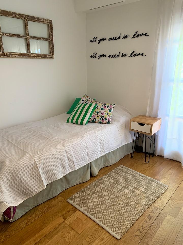 Una habitación como en tu casa