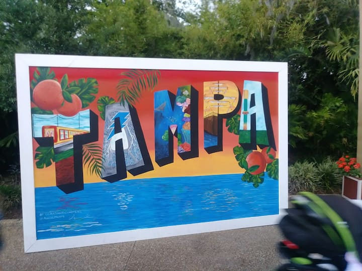 For your vacation in Tampa