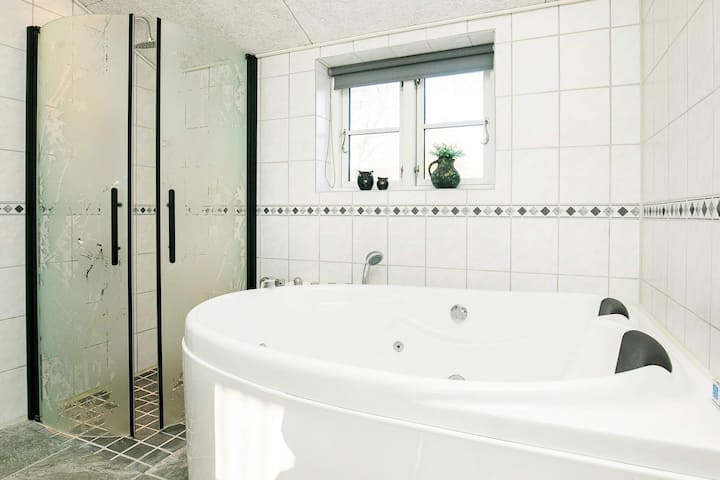 Peaceful Holiday Home in Jutland With Private Whirlpool