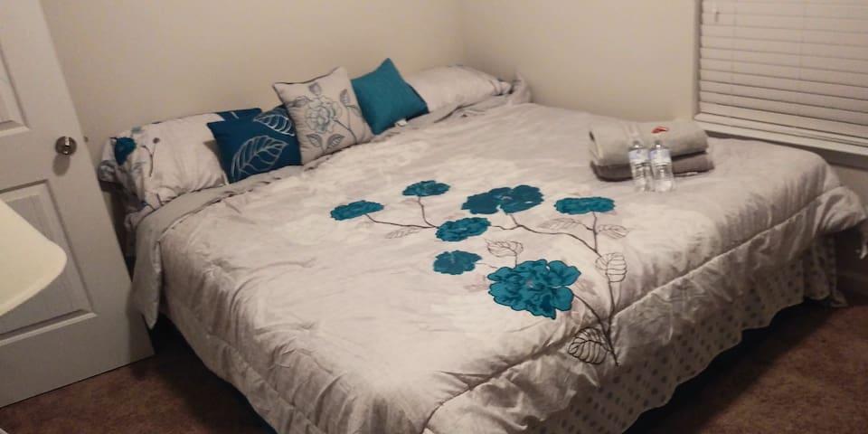 the McKenzie House -quiet, clean, comfortable.