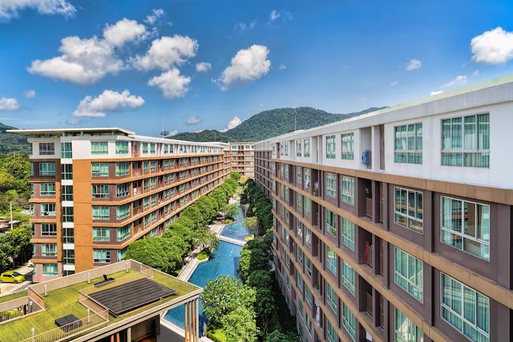 Квартира с превосходным видом на горы-8 этаж @Кату