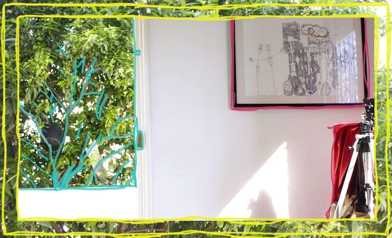 Coquet appartement dans une maison avec jardin - La Marsa