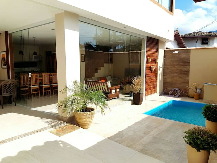 Casa nova 3 suites Paraty