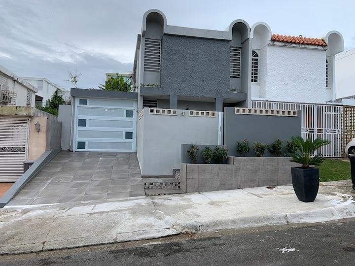 Nice house near San Juan for 4