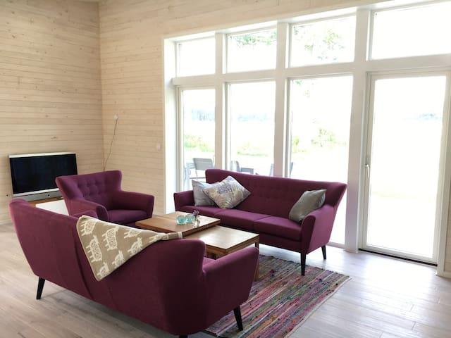 Newly built house close to Kalmar