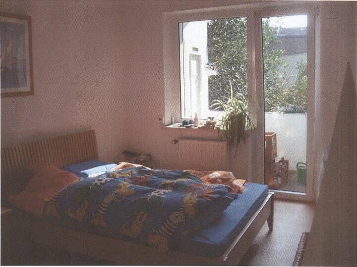 2 Zimmer WHG mit Loggia in Düsseldorf-Düsseltal