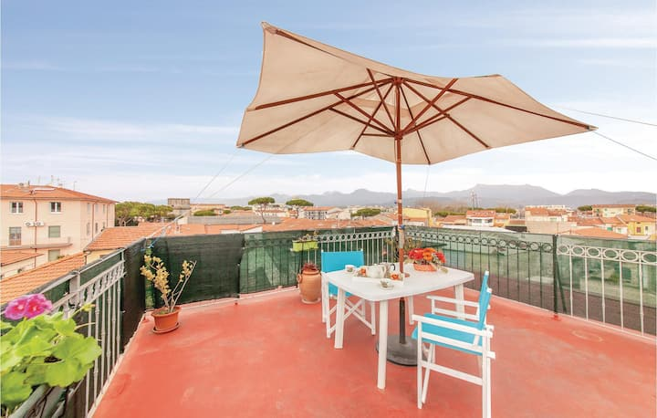 Holiday apartment with 2 bedrooms on 55m² in Viareggio LU
