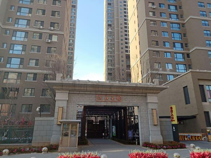 沈阳站/太原街/西塔观景二室二厅商务大床房