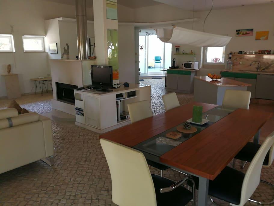 Küche Wohnraum Haupthaus