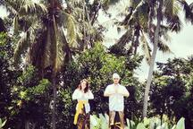 You can take pictures wearing traditional costumes in Bali for beautiful memory. We already prepared for you.