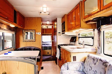 Very Cozy Rv with Folsom Lake View - Kamp Karavanı/Karavan