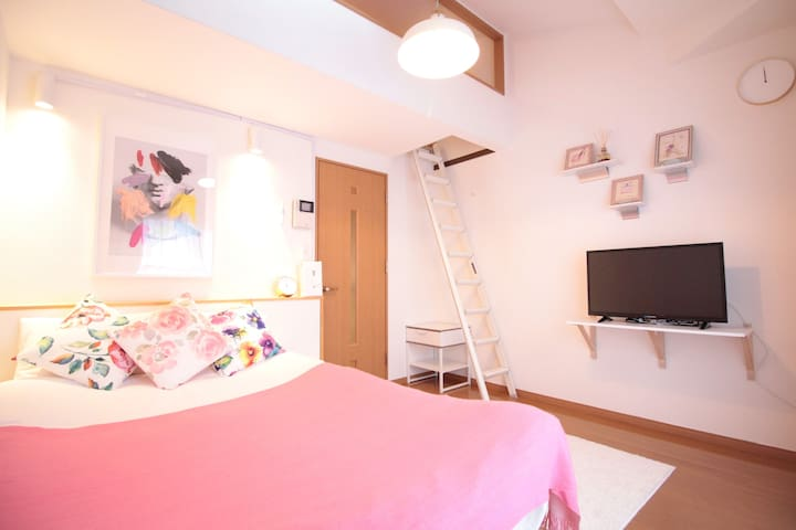 Tenjin area! Compact and Clean! Convenient! AS120