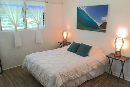 BEAUTIFUL SUNSET BEACH COTTAGE - Haleiwa