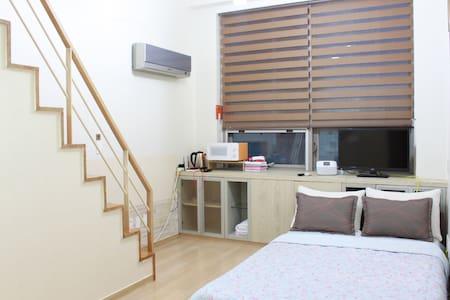응암역 2분 - 홍대, 공항, 시내와 가까운 복층아파트 (6명) - Eunpyeong-gu