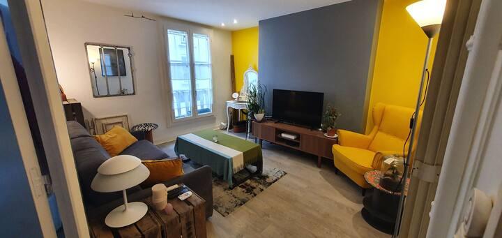 Appartement tout confort aux portes de Paris