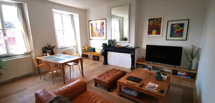 Appartement + Parking privatif au bord de l'escaut
