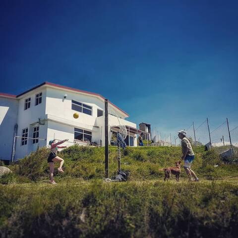 Casa en las montañas La casa Blanca de ixtlahuaca