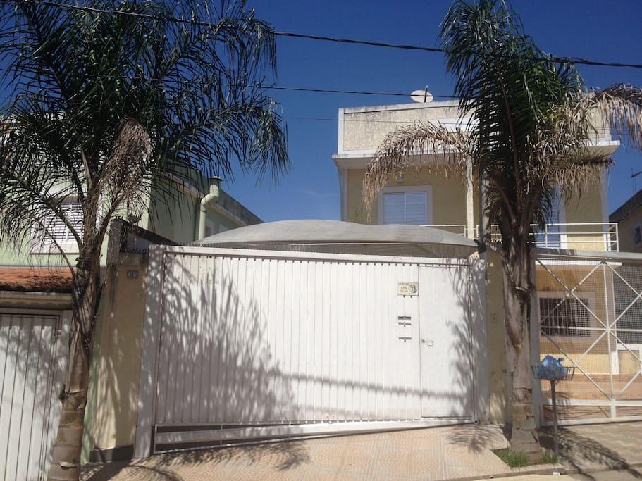 fachada da casa portão automático