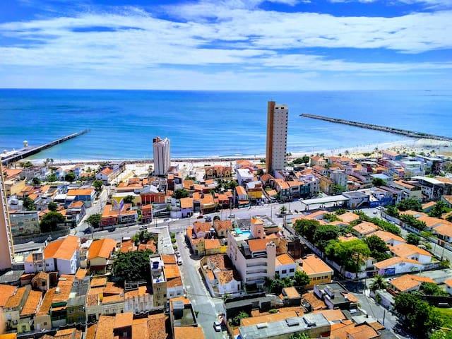 Ótimo Apartamento com vista para o Mar de Iracema!