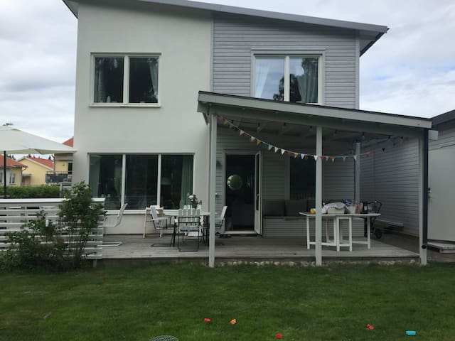 Family house in Uppsala, 40 min to Stockholm