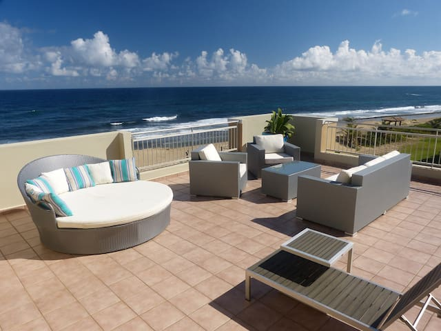 Extraordinary Beachfront Luxury Penthouse nr Jobos