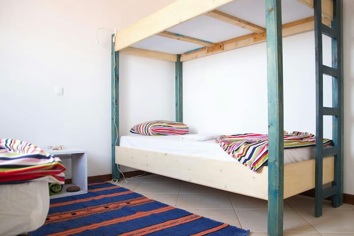 Sal Surf Camp & Suites _ Palmeira - Triple Shared