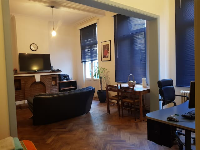 Apart. 75m2 10 min walk from Europarl/city center