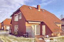 Modernes Haus mitten in Norddeich