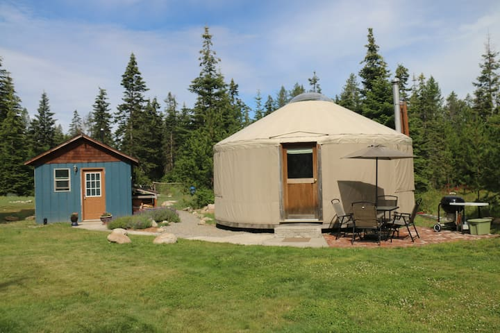 A yurt in the heart of an outdoor paradise - Athol - Jurtta