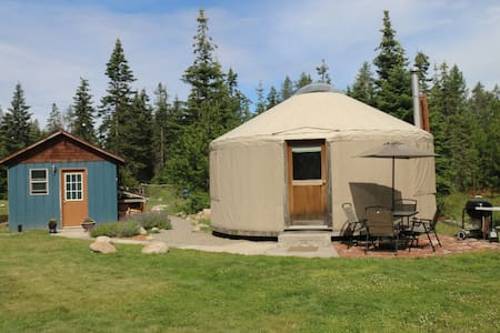 A yurt in the heart of an outdoor paradise - Yurt