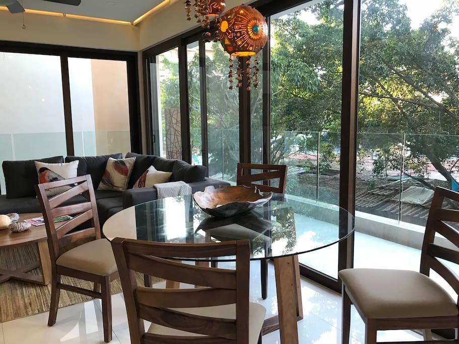 Condo Nayri 101 Living room