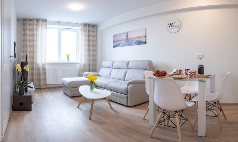 ★Deluxe flat★15 min by car to Centre★Free Parking★