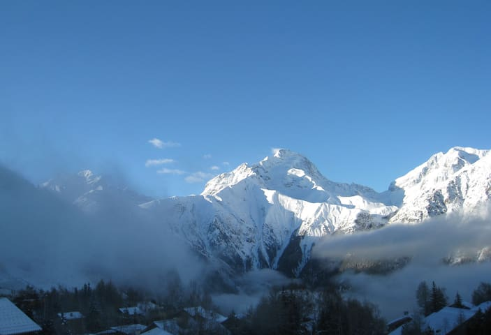 3 rooms flat for 6 p. 50 m2 good standing building - Les Deux Alpes - Pis