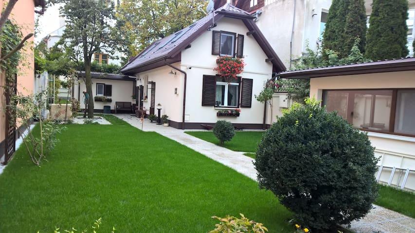 Cozy 2 room house with a nice big garden - Brașov - Hus