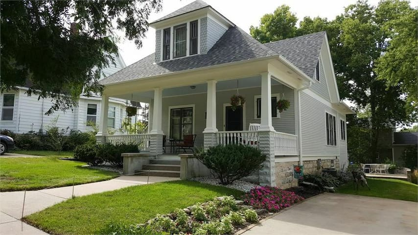 Exceptional New Listing Decorah Craftsman Bungalow
