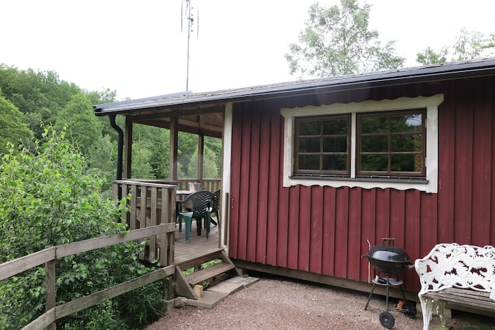 Cottage for 4 at beautiful farm with animals