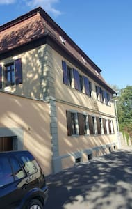 Zwei gemütliche Zimmer mit Duschbad - Giebelstadt - House