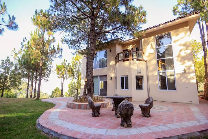 House 1- fully furnished with beautiful view
