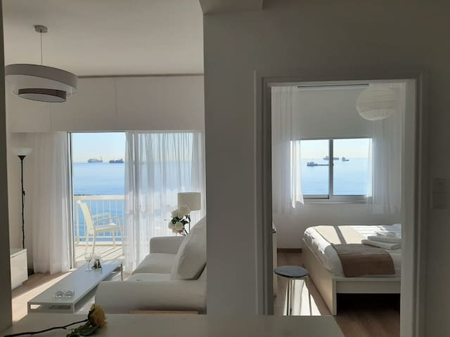Fully Refurbished 1 Bd Apt with stunning sea view