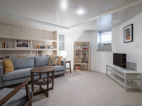 1BR apt in DC's stunning and historic Capitol Hill