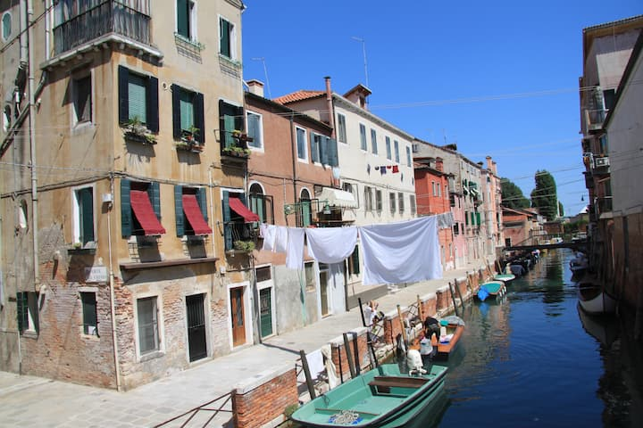 near the Arsenale and the Biennale