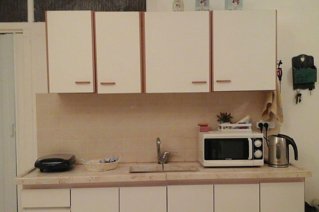 Кухня.  Полностью оснащена.