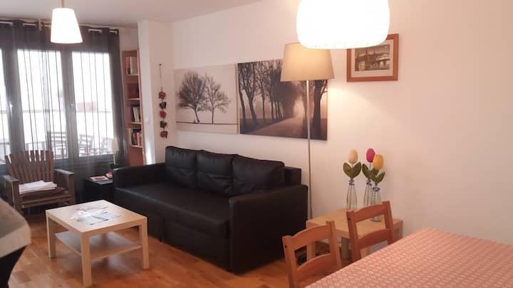 Espacioso apartamento con terraza