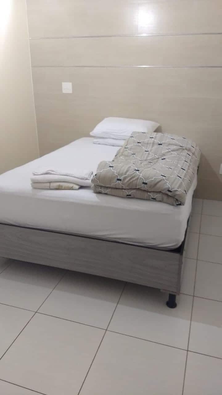 Suite Jade próxima à rodoviária de Piracicaba