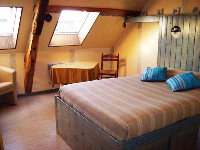 """Chambre """"Marine"""" : une de nos 3 chambres d'hôtes. - Espinasse Vozelle - Bed & Breakfast"""