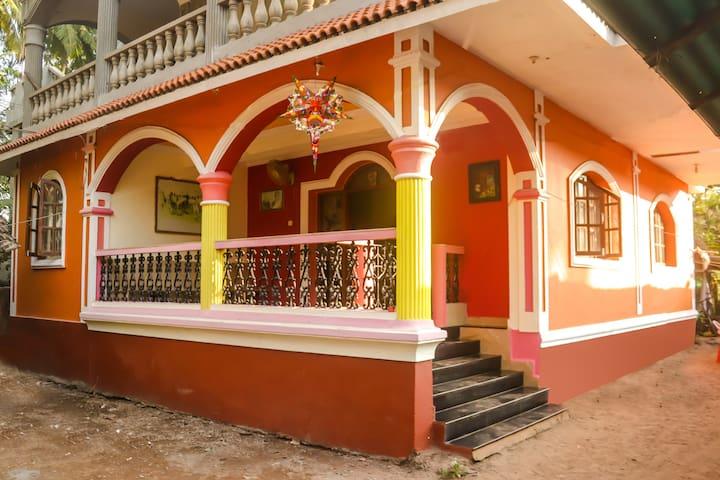 3 Bedroom Villa  close to Ashvem Beach