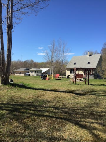 Property from walking trail