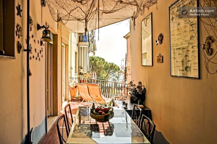 Maiori, Amalfi Coast ❤️ SeaView 50m from beach ❤️