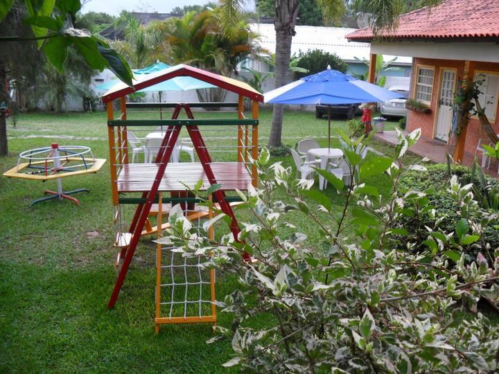 Cabana 2 - Albergo dei Fiori - sua casa no Rosa